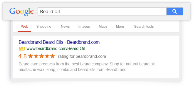 Beardbrand-google